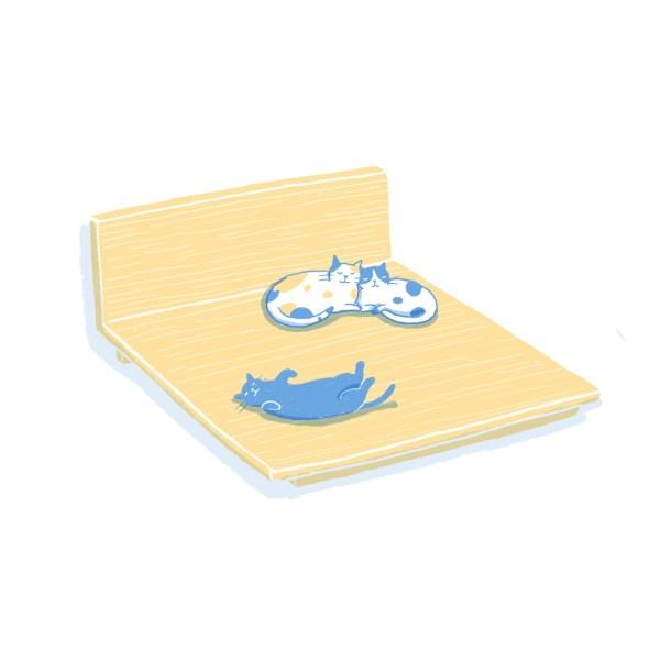 眠豆腐床架|雙人加大