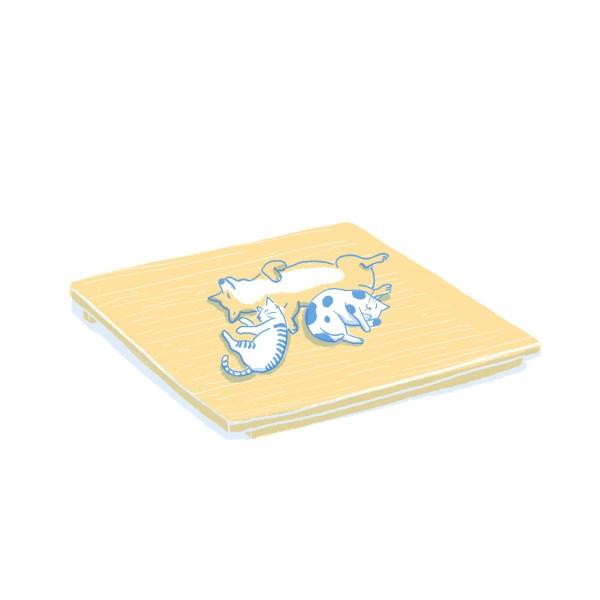眠豆腐床架(無床頭板)|雙人特大