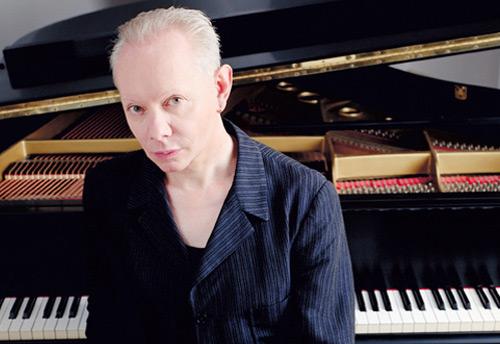 Joe Jackson and piano