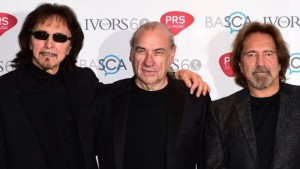 Black Sabbath honoured at the Ivor Novello Awards