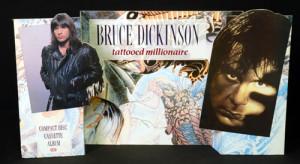 Bruce Dickinson Tattooed Millionaire 1990