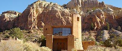 Christ in the Desert Monastery, Albiqu, NM