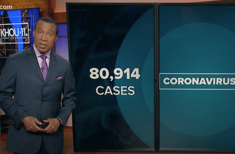 COVID-19 case count: Houston, Harris County surpass 800 total deaths, 80,000 new cases- KHOU11