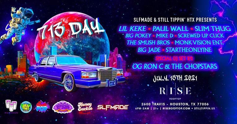 713 Day Ft. Lil Keke, Paul Wall, Slim Thug, Big Pokey, OG Ron C & More!