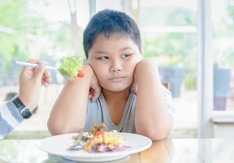 лишний вес ребенок диета
