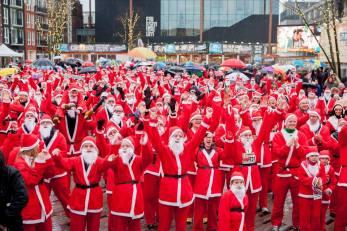 Rotary Santa Run Leeuwarden
