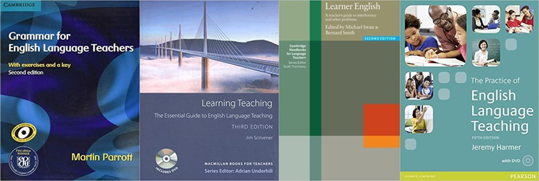 English teaching book covers
