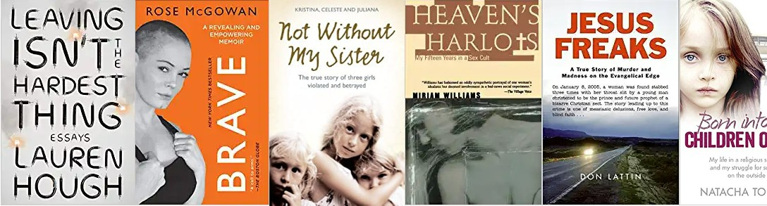 Children of God related book covers