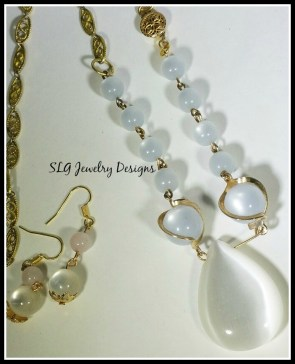 Lucite necklace and earrings 5 - Copy