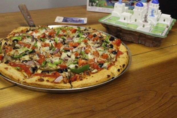 Santorini Pizza