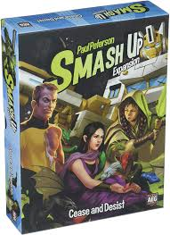 Smash Up Cease and Desist Expansion Image