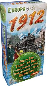 Ticket to Ride: Europa 1912 Expansion Image