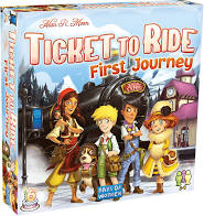 Ticket to Ride: First Journey Europe Image