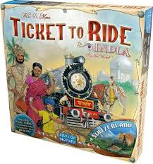 Ticket to Ride: India+Switzerland Image