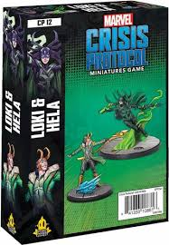 Marvel Crisis Protocol Miniatures Game Loki and Hela Image