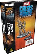 Marvel Crisis Protocol Miniatures Game Rocket and Groot Image