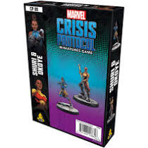 Marvel Crisis Protocol Miniatures Game Shuri and Okoye Image