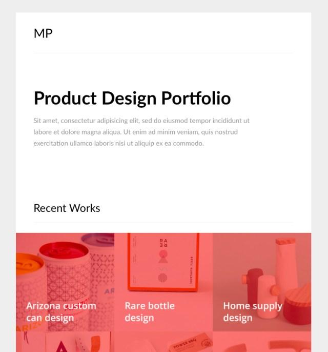 MailPortfolio A Free Responsive Email Template Slicejack - Responsive email template github