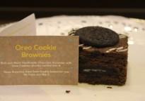 Oreo Cookie Brownie from Brownie blues