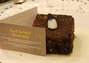 Fruit and nut brownie from Brownie Blues