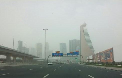 Sandstorm surprise in Dubai