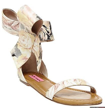 Flavor Floral Multi Sandals