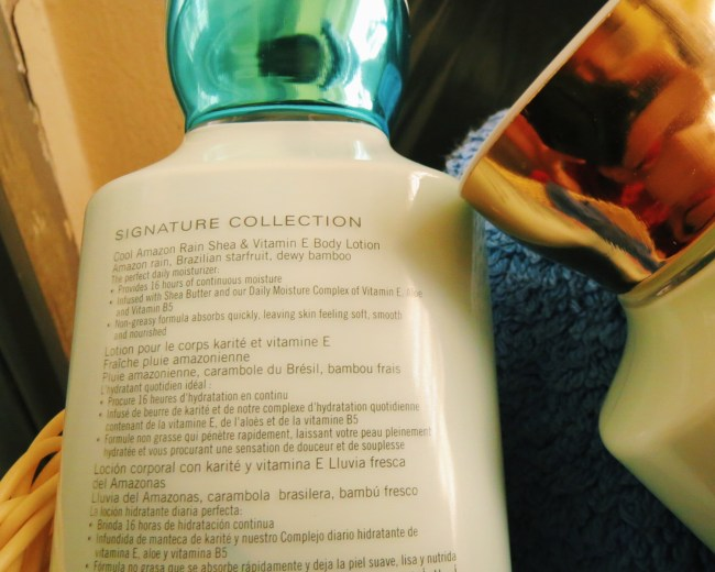 Bath and Body Works signature collection body lotion