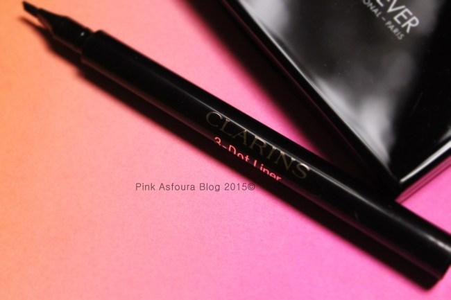 Blogger Monika Ramesh hearts her Clarins Three Dotted Eyeliner