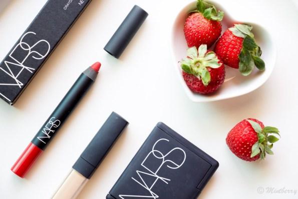 Neha Jaspal swears by her Nars Velvet Matte Lip Pencil - Mysterious Red. best red lipstick
