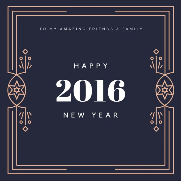 New Year 2016 greetings free download
