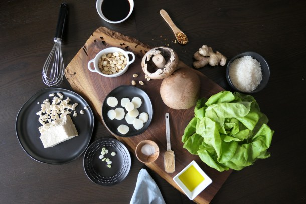 Portobello Lettuce Wraps - Slice Of Honey Blog