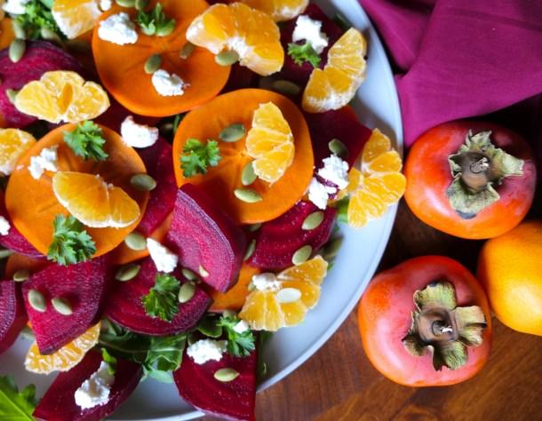 Autumn Harvest Salad - Slice Of Honey Blog