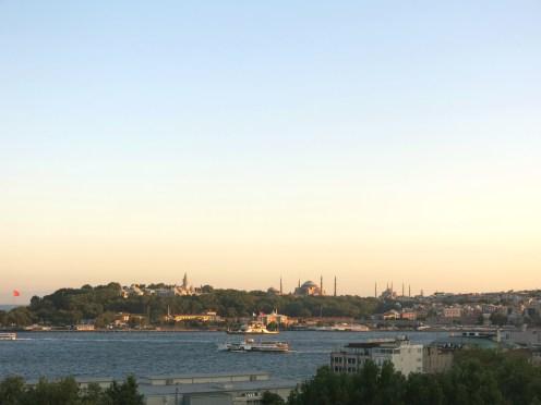 View from Cihangir Parkı