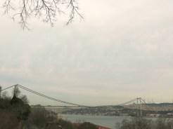 View to Bosporus Bridge from Yıldız Parkı
