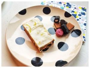 lakridskonfekt kage, allsort slice
