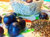 Lækker, sund chia budding (chia grød) som du kan servere for babyer, børn og voksne.
