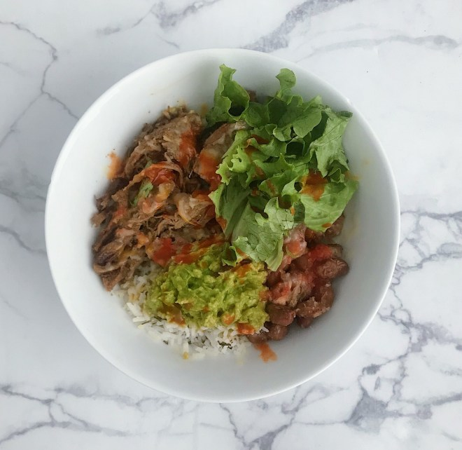 Copycat Chipotle Carnitas Bowl