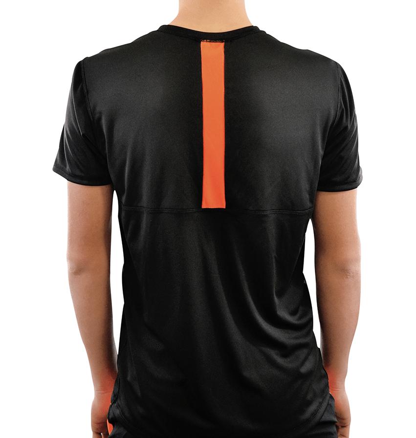T-shirt ACE Vertical Preta