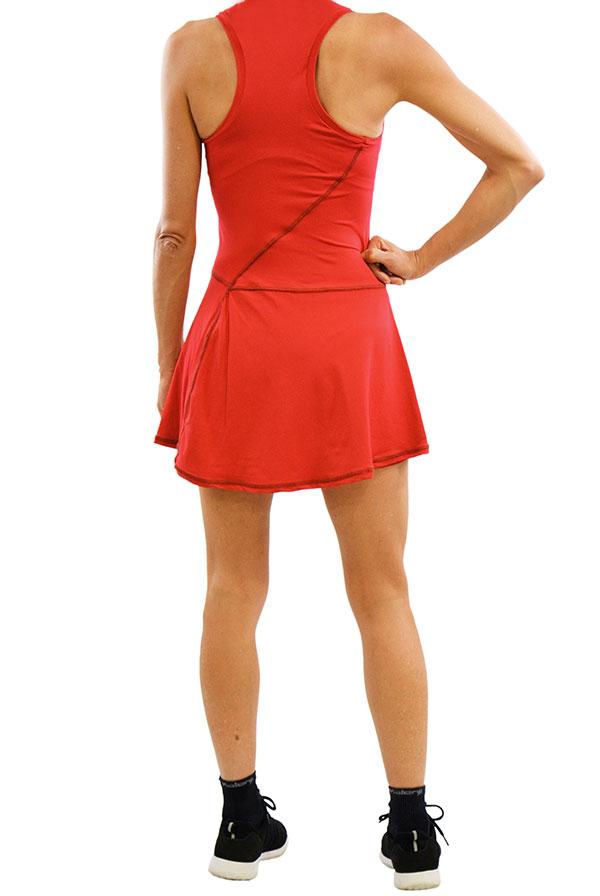 Vestido GLOW Encarnado (9)