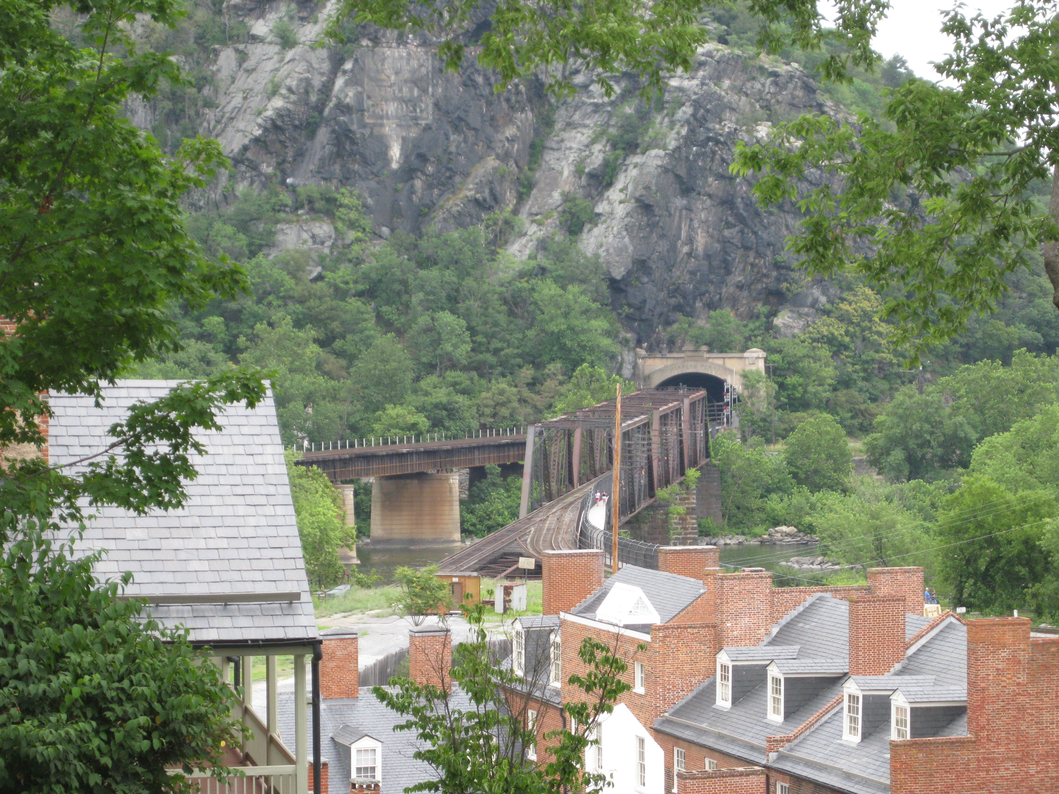 Downtown Harpers Ferry West Virginia Slicethelife