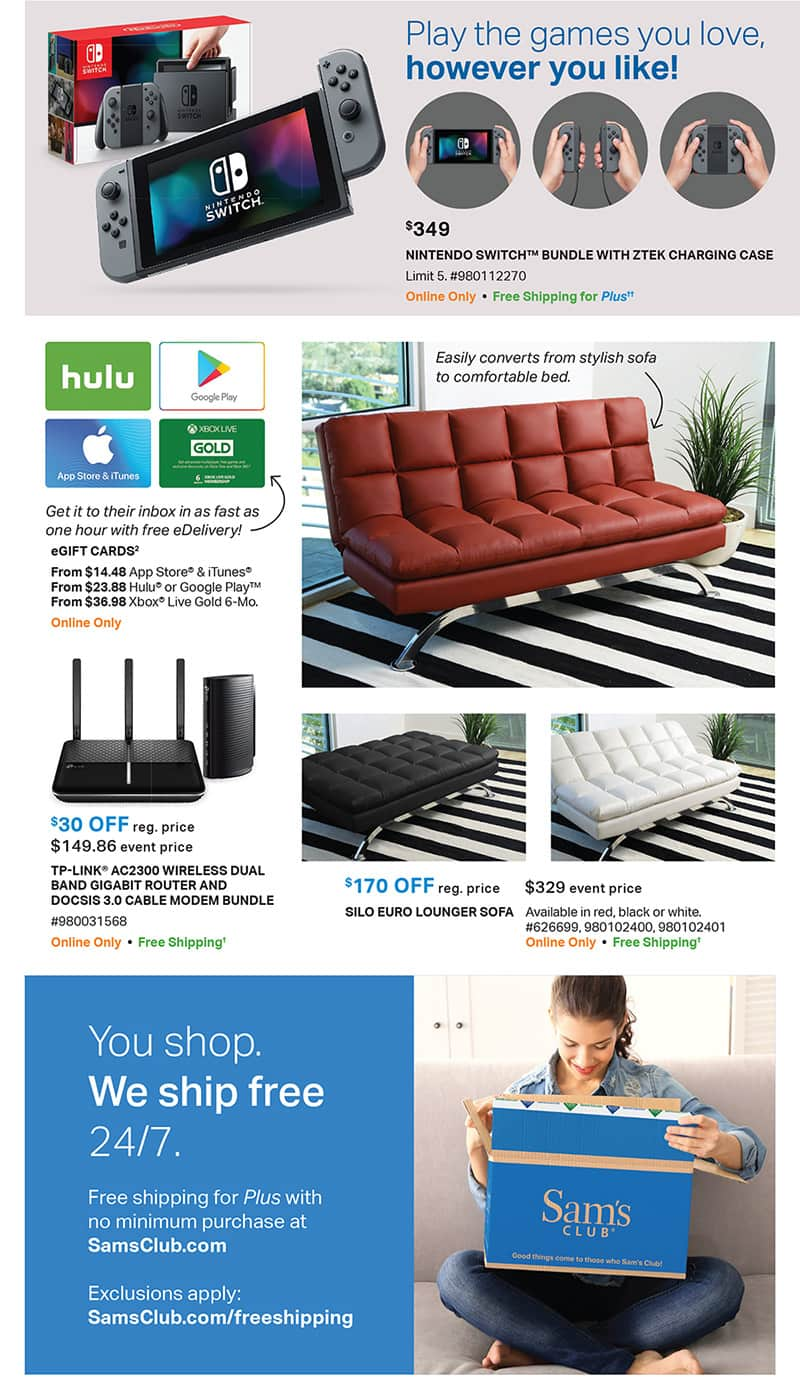 Tons Of New Deals Available In The Sams Club July Instant