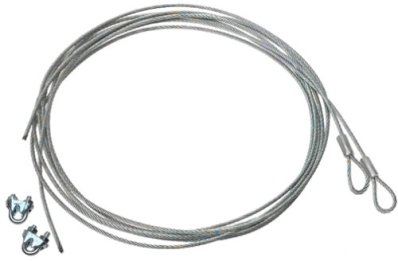 Stanley Hardware 73-0680 Garage Door Extension Spring Safety Cables