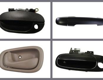 Top car door handle