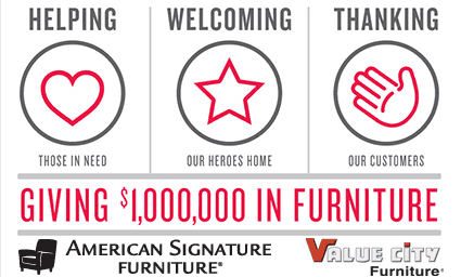 FREE Furniture for Military Families