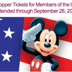 DisneyLAND Military Discount: $99 Park Hopper Ticket Deal