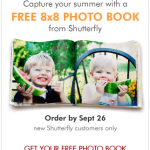 HURRY!! FREE Shutterfly 8×8 Photo Book {$29.99 Value} + $20 Credit!