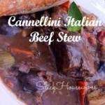 Cannellini Italian Beef Stew Recipe: Crockpot Cooking