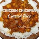 Chicken Chickpea Curried Rice – Crockpot Cooking