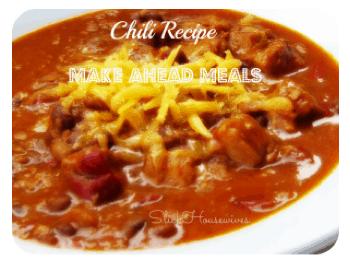 Cornbread Topped Chili Recipe