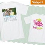 Vistaprint Custom T-Shirt $6 Shipped